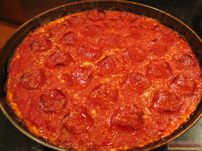 Pepperoni with Pequod's-Style Charred Edges