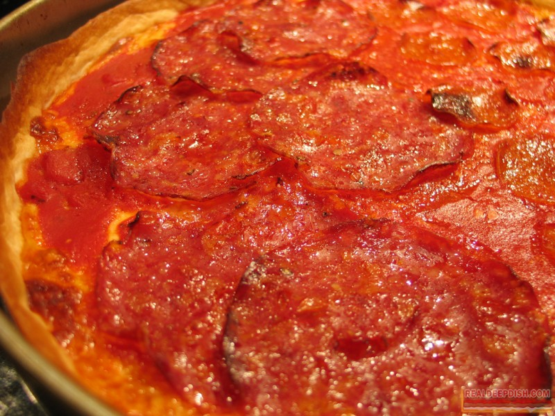 Italian Sausage, Pepperoni and Sorpressata