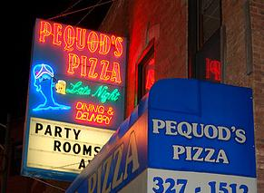 Pequod's Pizza - Chicago - photo by Edward Heller