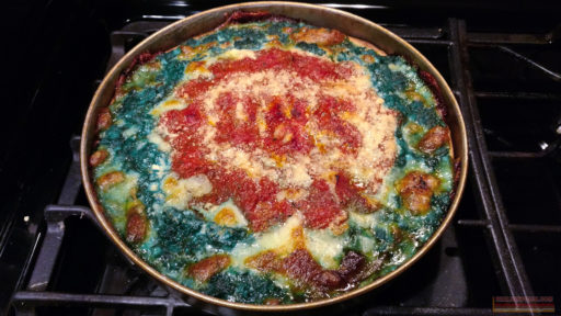 Cubs Deep Dish Pizza - NLCS Game 1 - baked 1