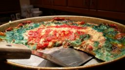 Cubs Deep Dish Pizza - NLCS Game 1 - baked